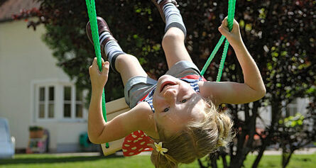 Swings at the Ferienresidence Vital